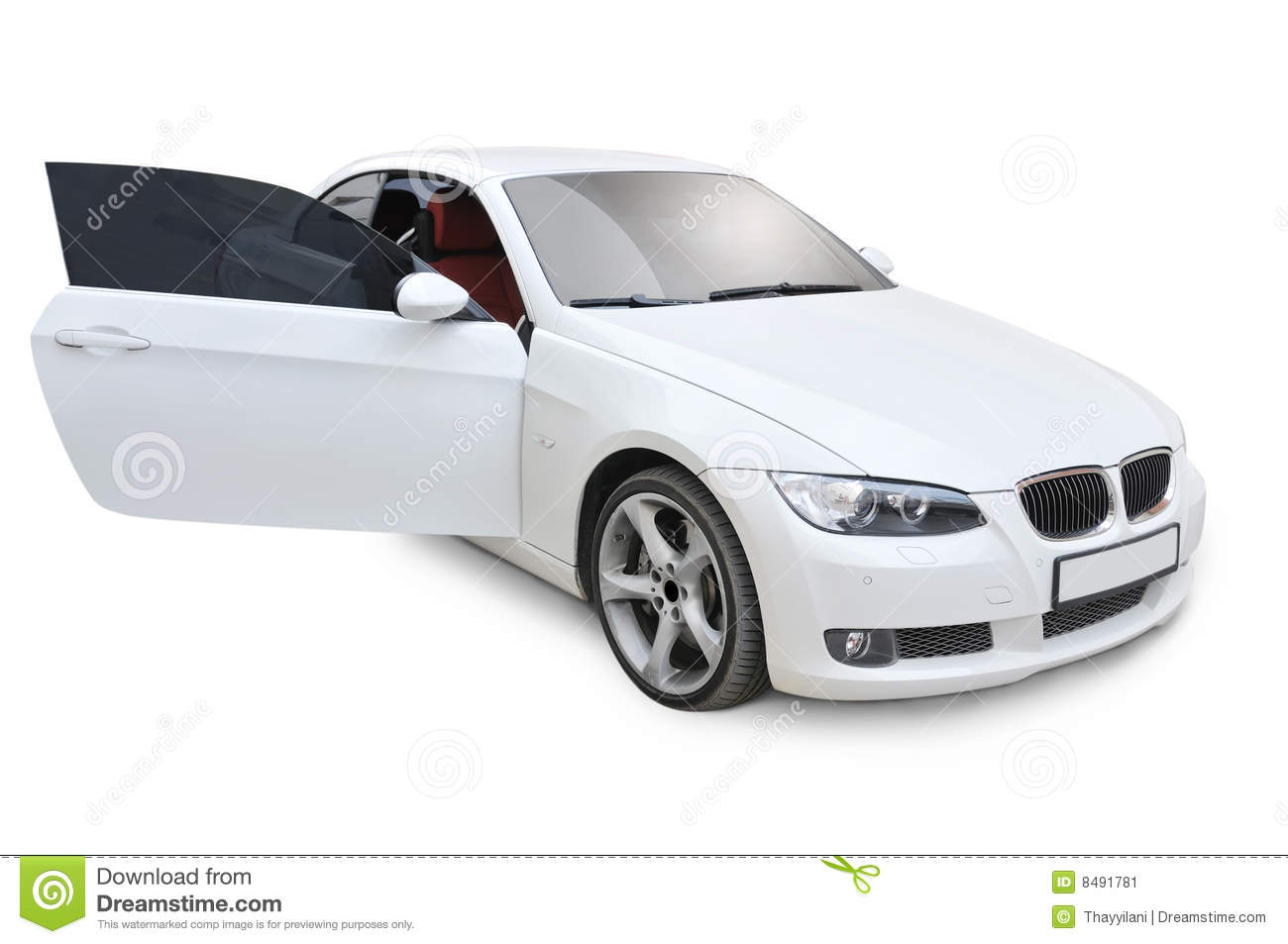 Bmw 335i Right Door Open Stock Image Image Of Front Cars 8491781