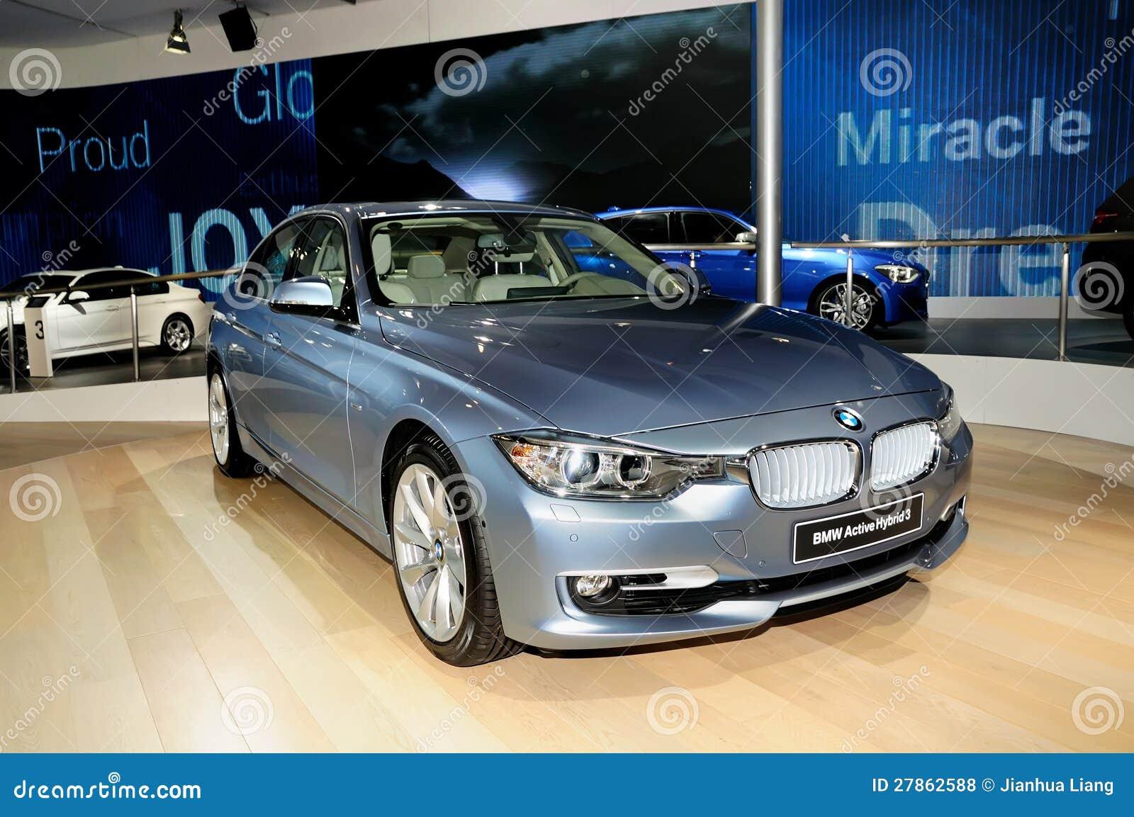 BMW Aktywny Hybrydu 3 baru samochód