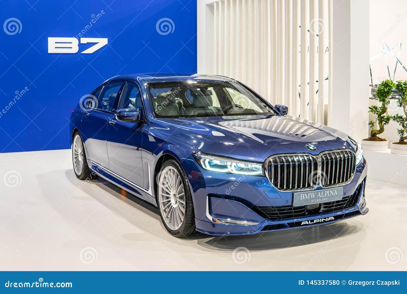 BMW ALPINA B7 BITURBO, Alpina Burkard Bovensiepen Gmbh ontwikkelt en verkoopt krachtige versies van BMW-auto s