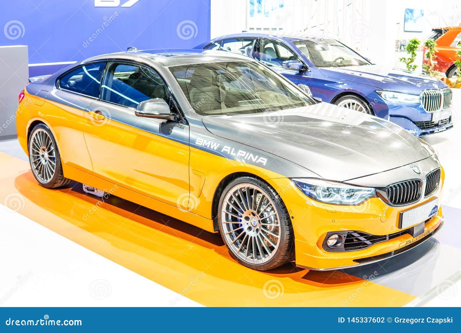 BMW ALPINA B4 s BITURBO Edition99, Alpina Burkard Bovensiepen ГмбХ начинает и продает высокопроизводительные версии автомобилей B