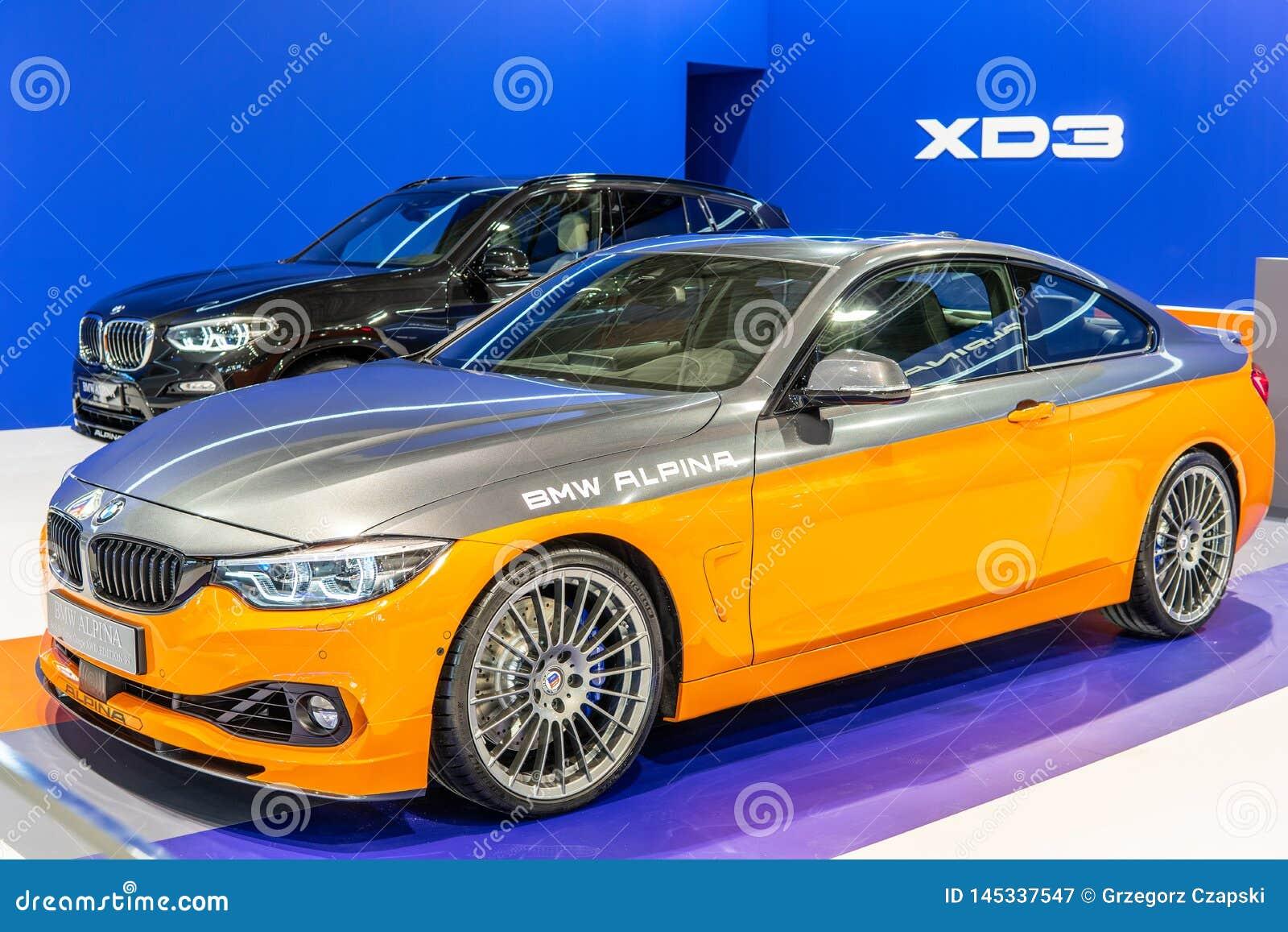 BMW ALPINA B4 S BITURBO Edition99, Alpina Burkard Bovensiepen Gmbh ontwikkelt en verkoopt krachtige versies van BMW-auto s