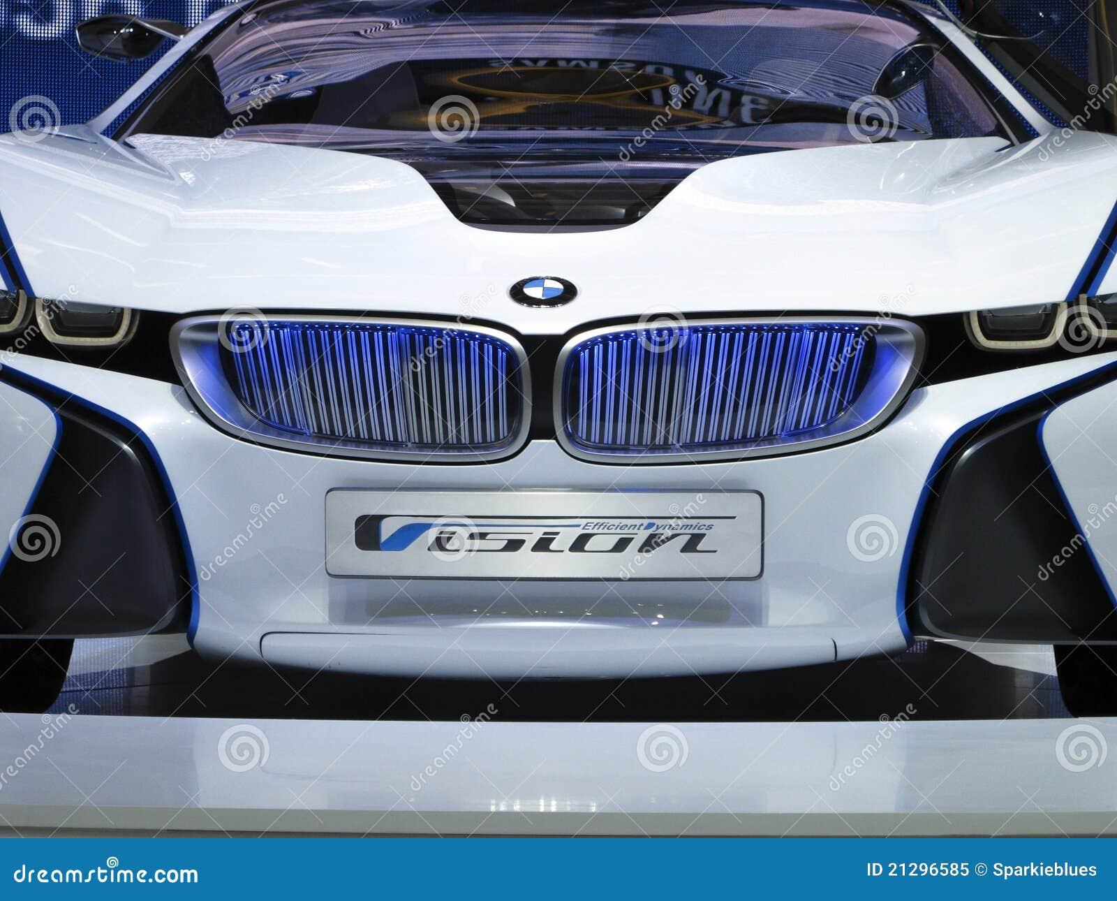 Bmw Anblick Effizientes Dynamik Konzept Auto Redaktionelles Bild
