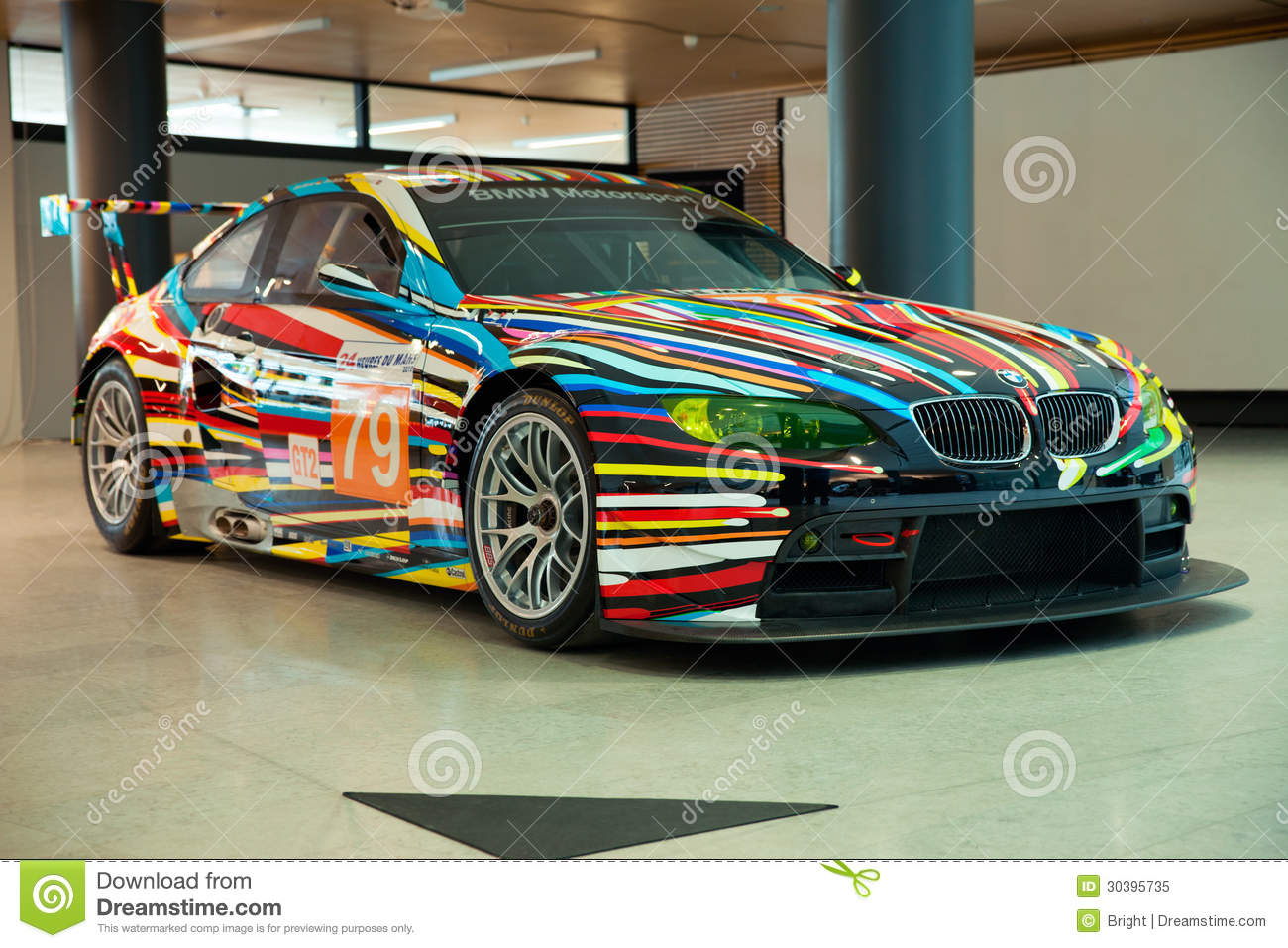 Bmw Art Car Editorial Image Image 30395735