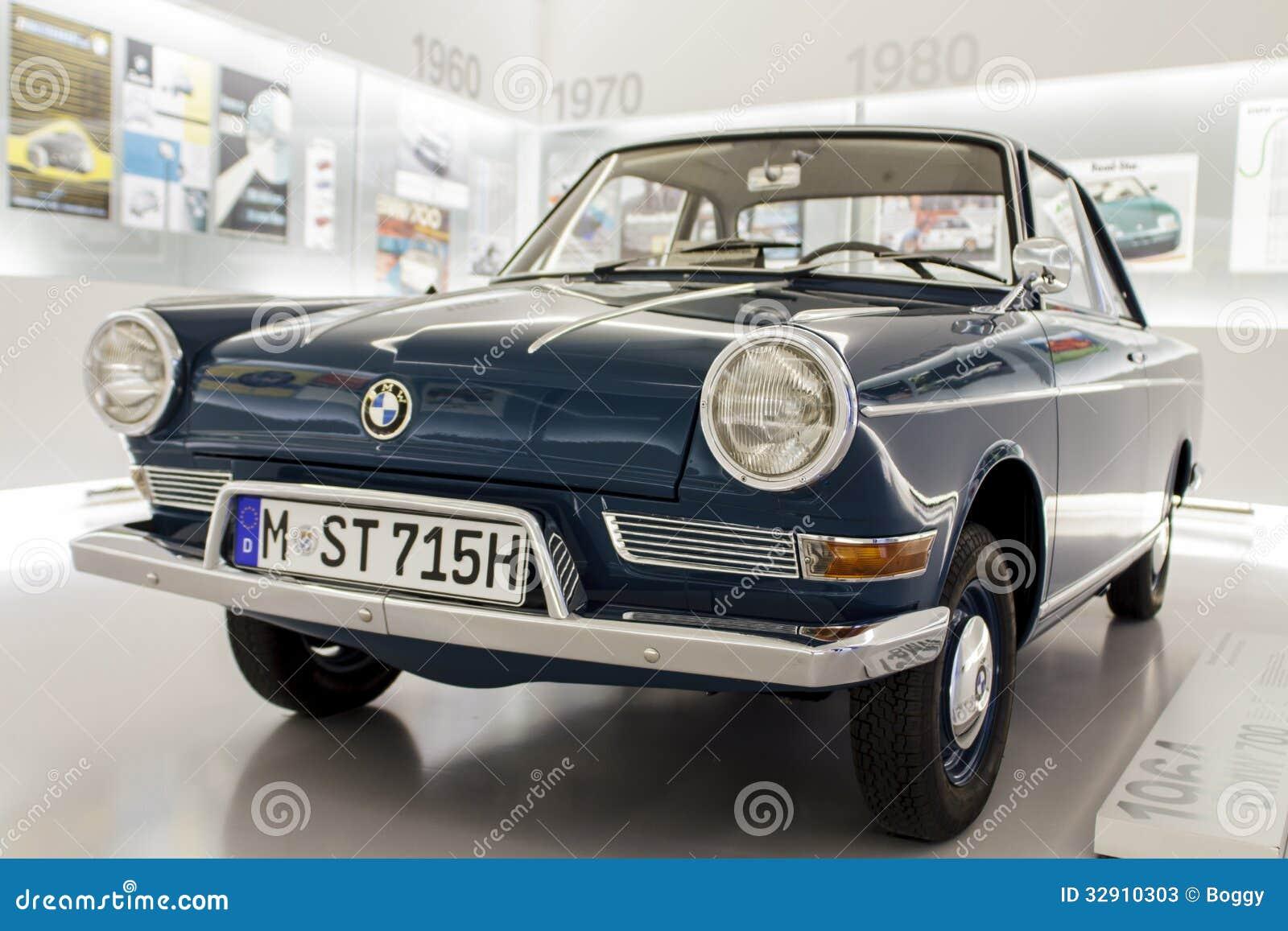 BMW 700 (1964) In BMW Museum, Munich Editorial Stock Photo ...