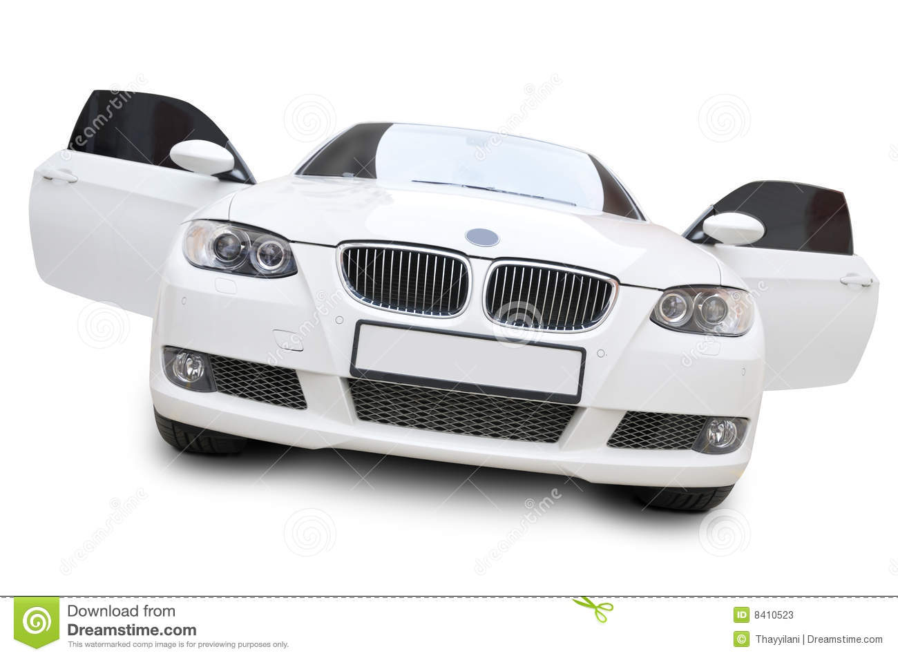 Bmw Car Front Doors Open Stock Image Image Of Fenders 8410523