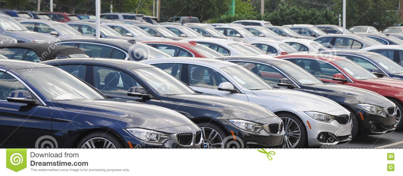 Bmw Cars At A Dealership Editorial Image Image Of