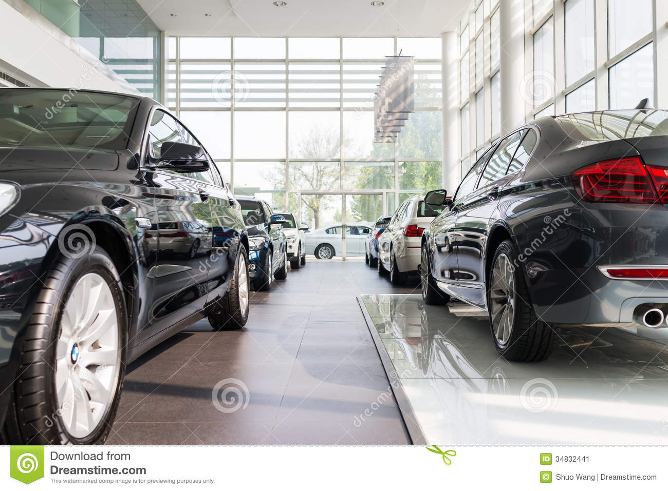 Bmw Cars For Sale Editorial Photo Image 34832441