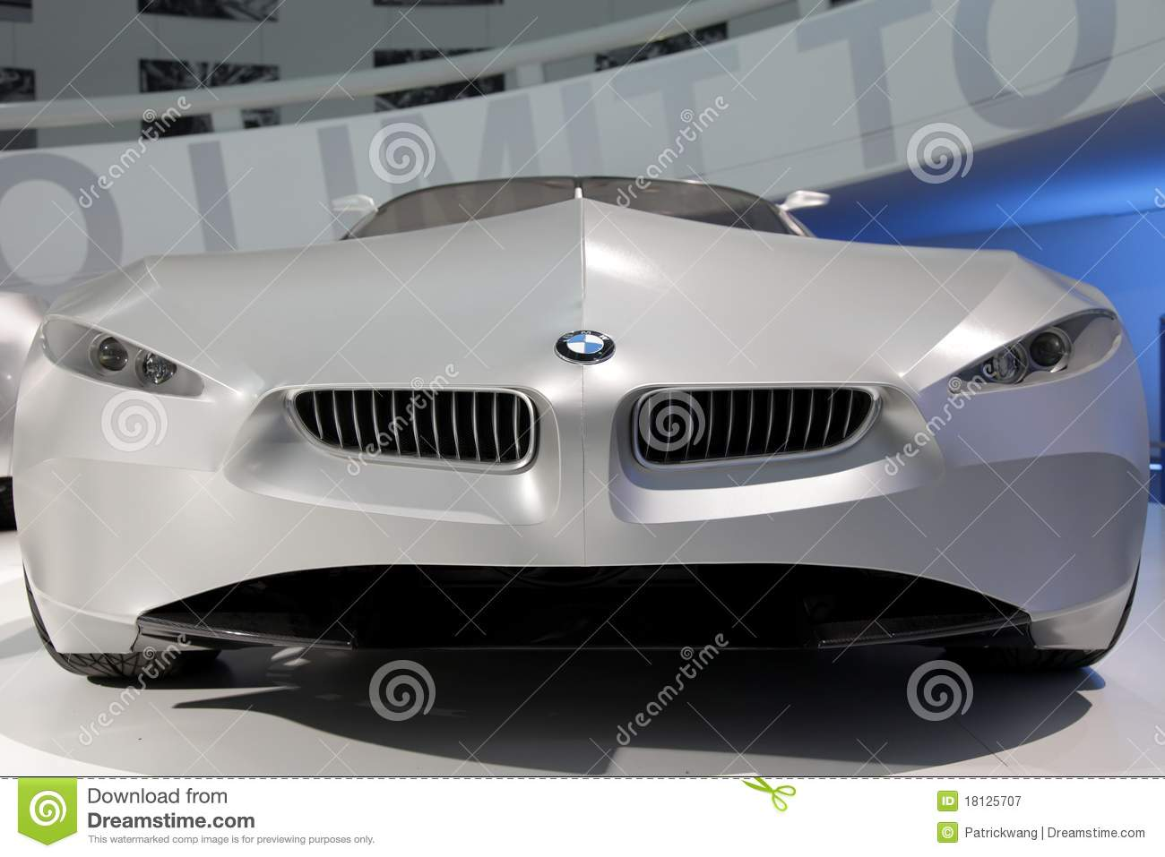 Bmw Concept Car Gina Editorial Photography Image Of Steel 18125707