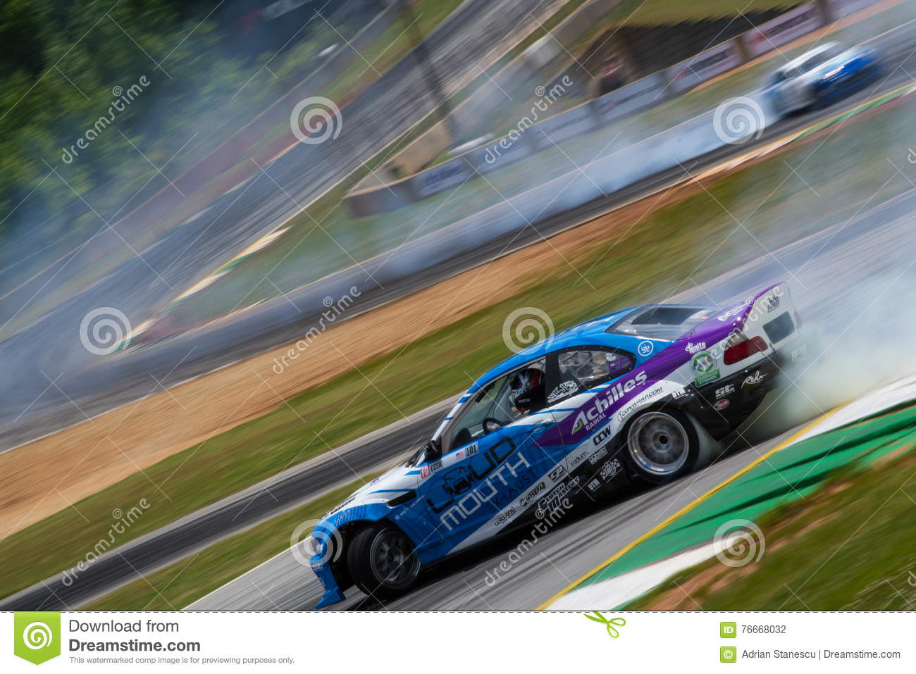Bmw E46 Drift Car Editorial Photography Image Of Ford 76668032