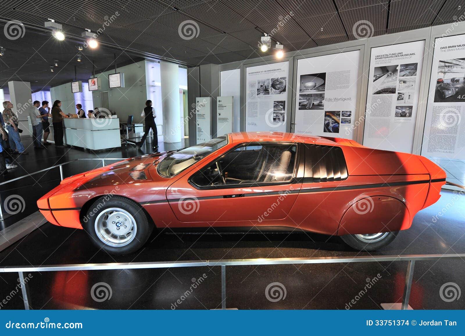 BMW E25 Turbo Concept Car Built As A Celebration For 1972 Summer ...