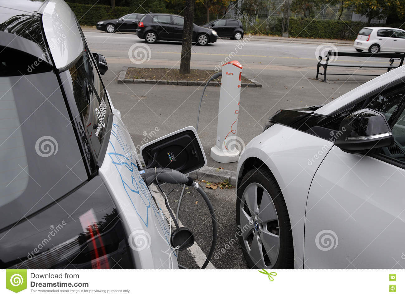 Bmw Electric Vehicle Editorial Image Image Of Finance 78374835