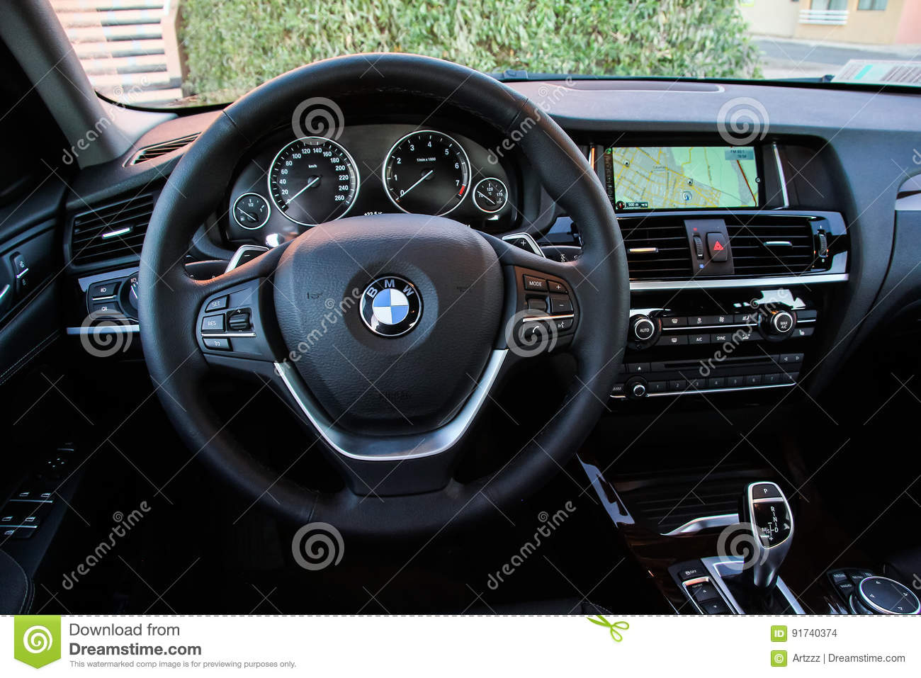 BMW F26 X4 editorial stock image  Image of idrive, black - 91740374