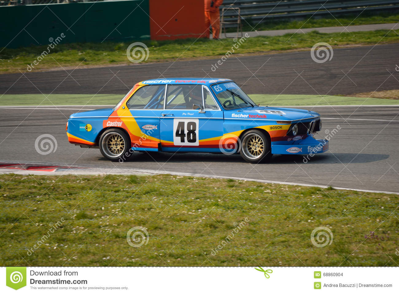 Bmw 2002 Gs Tuning Test 2016 At Monza Editorial Stock Image Image Of Brake Class 68860904