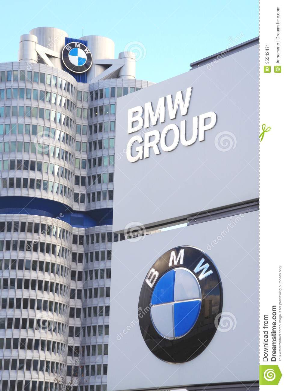 Bmw Headquarters Munich Germany Editorial Photo Image