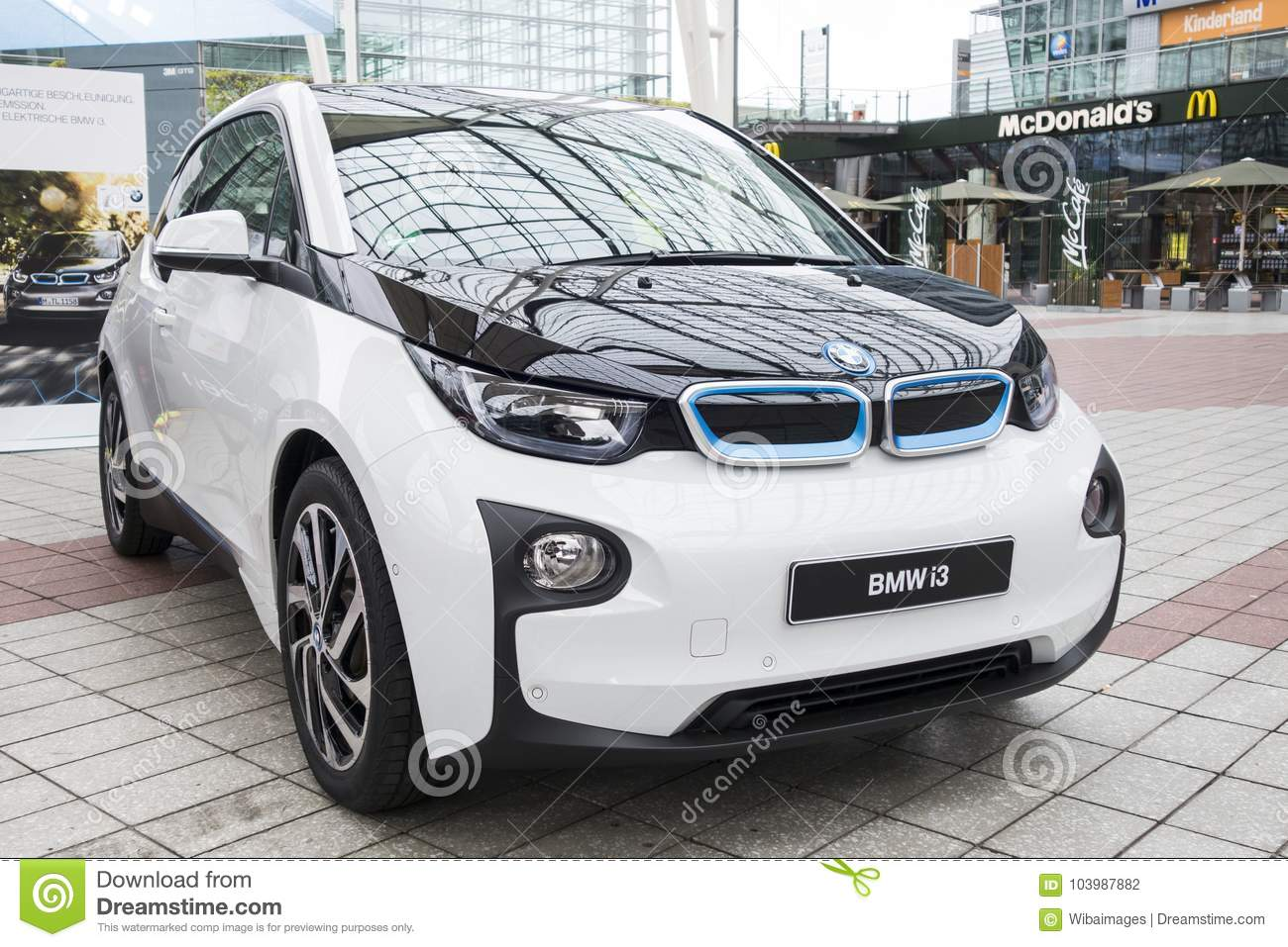 Bmw I3 All Electric Car Editorial Photography Image Of Success