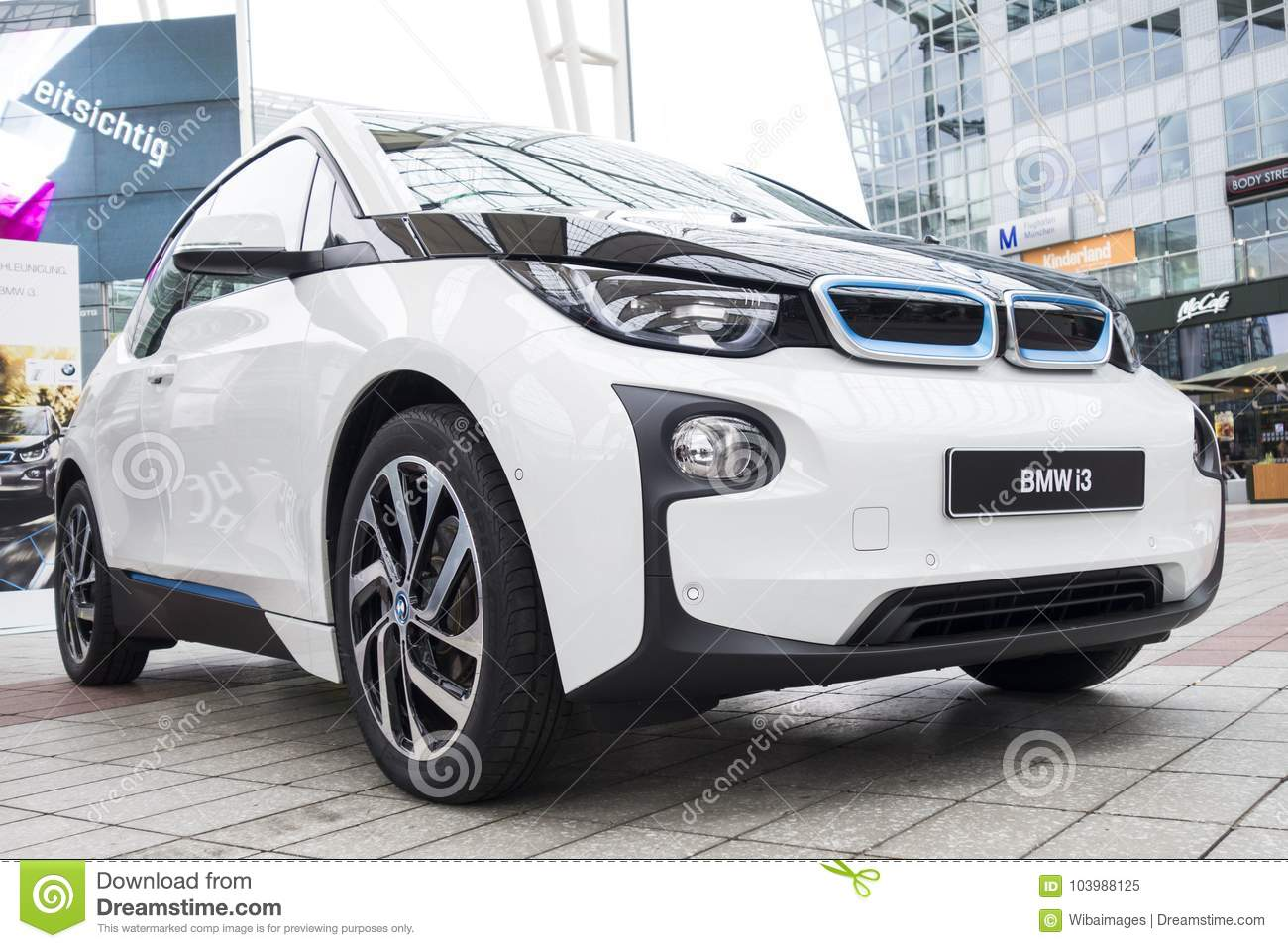 Bmw I3 All Electric Car Editorial Image Image Of Luxury 103988125