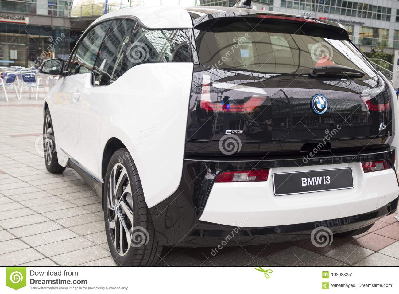 Bmw I3 All Electric Car Editorial Photo Image Of Modern 103988251