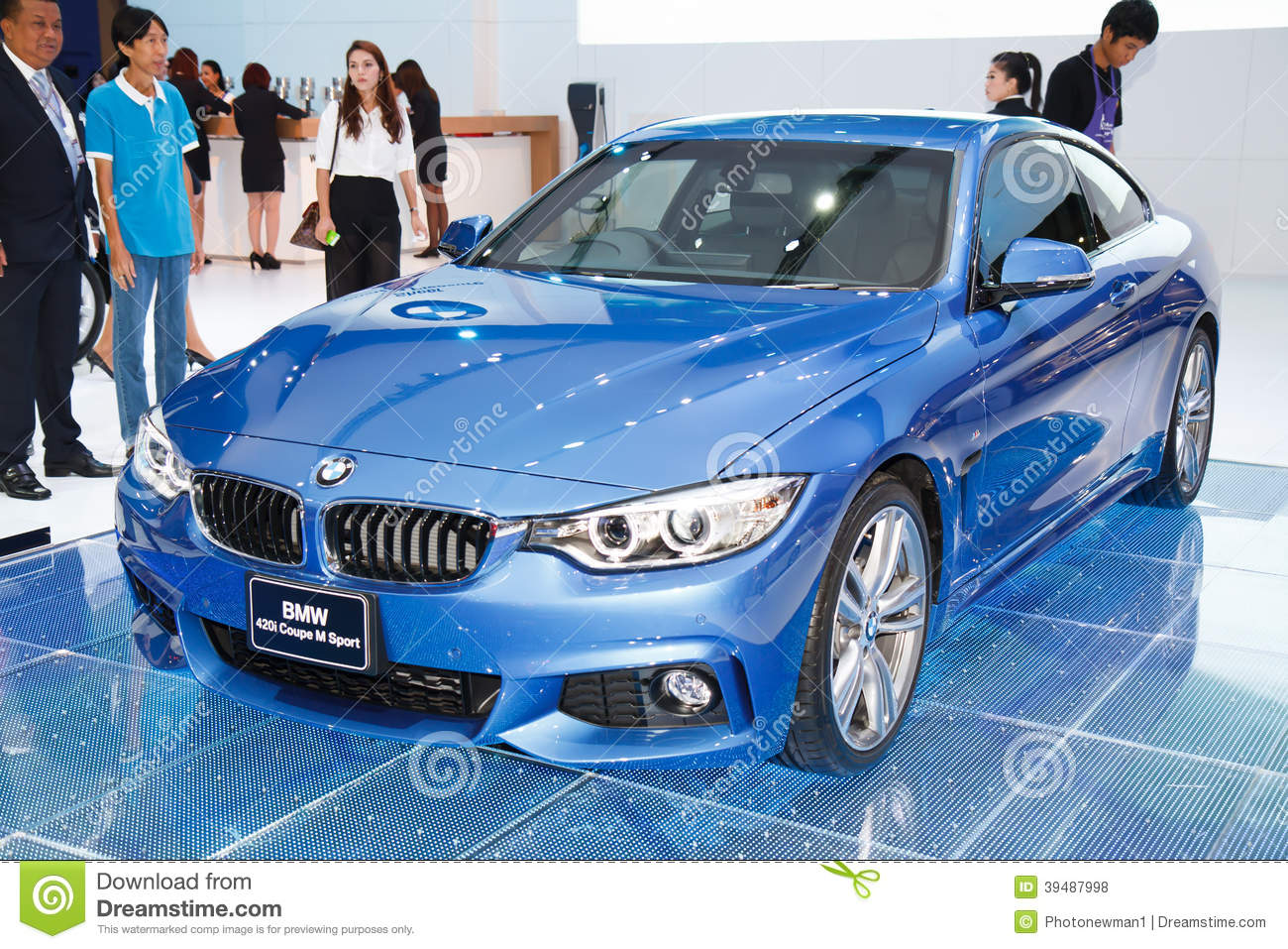 Bmw 420i Coupe M Sport On Display Editorial Stock Photo