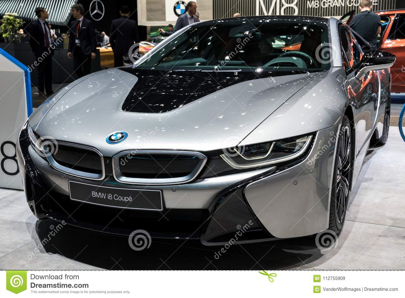 Bmw I8 Coupe Sports Car Editorial Stock Image Image Of Performance