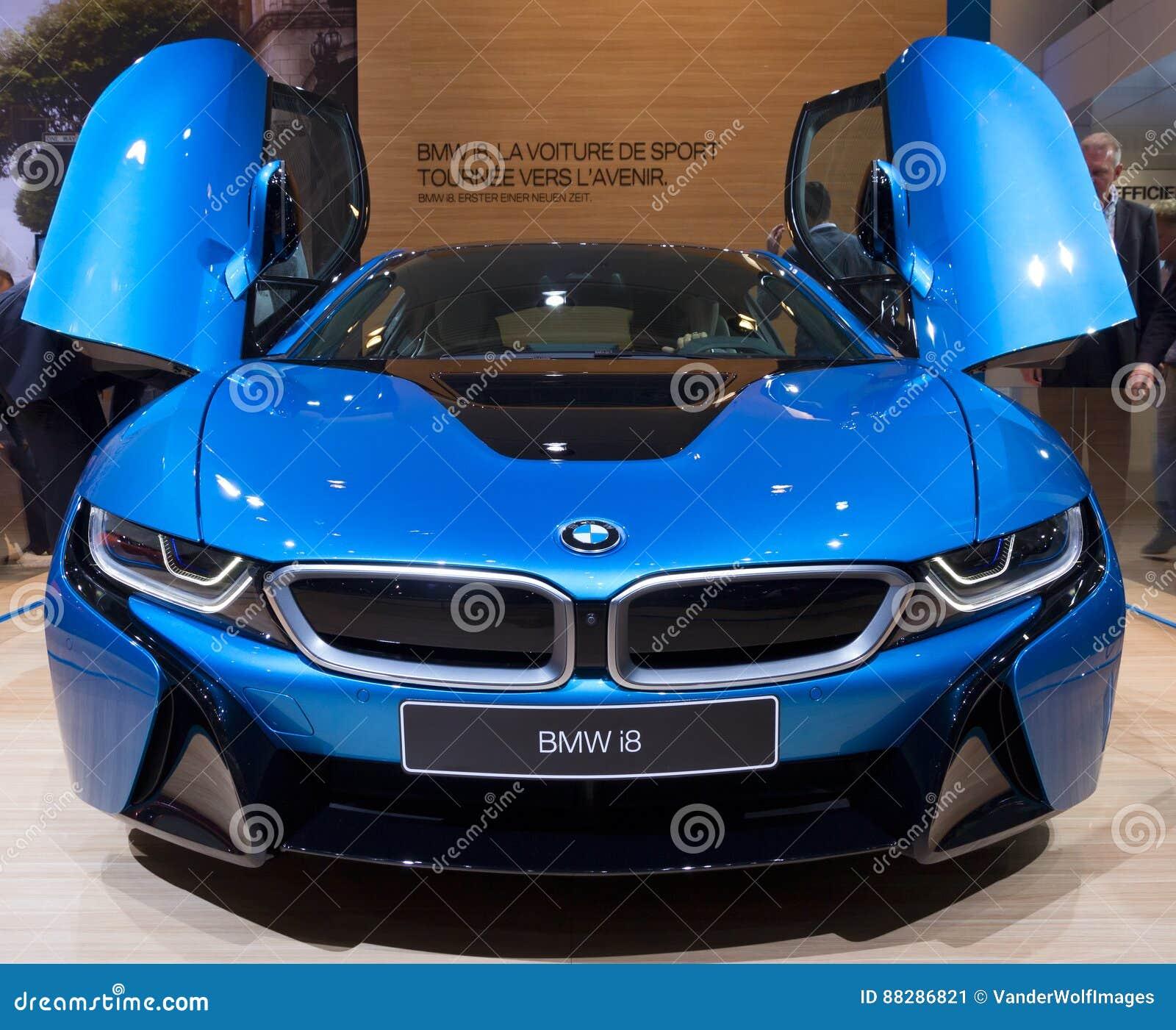 Bmw I8 Electric: BMW I8 Electric Sports Car Editorial Photo. Image Of 2015