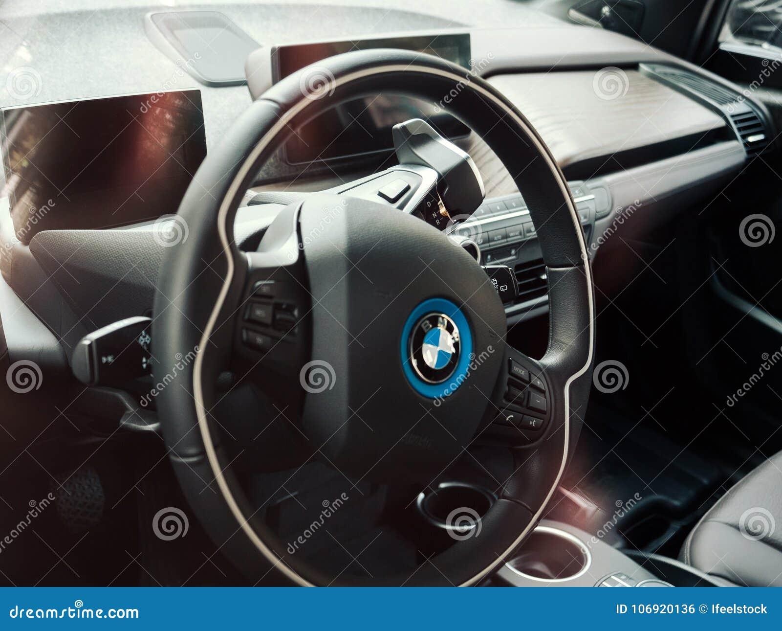 BMW i1 elektryczny samochód