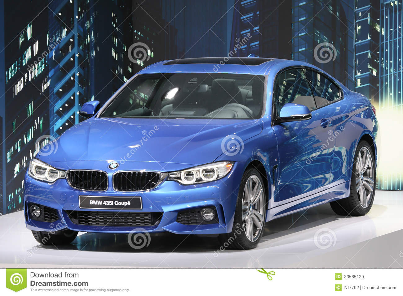 bmw 435i 4er coupe editorial stock image image 33585129. Black Bedroom Furniture Sets. Home Design Ideas