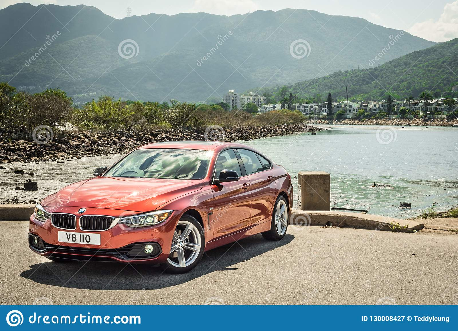 Bmw 420i Gran Coupe 2018 Test Drive Day Editorial Photography