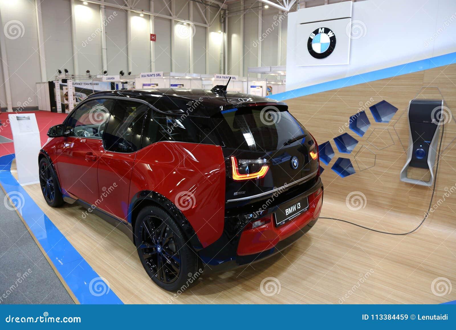 BMW i3s elektrisch an SIAB 2018, Romexpo, Bukarest, Rumänien