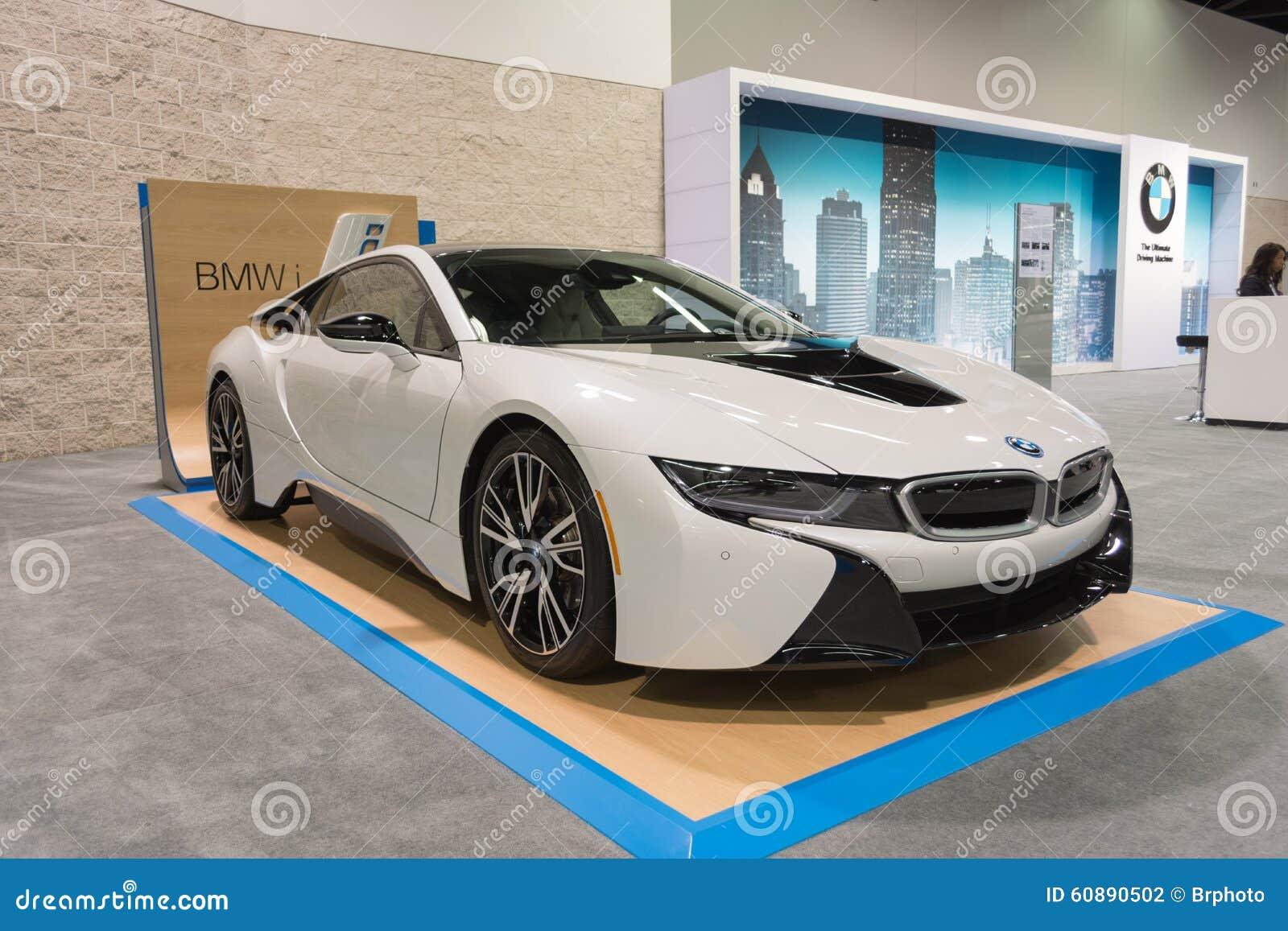 BMW i8 sur l affichage