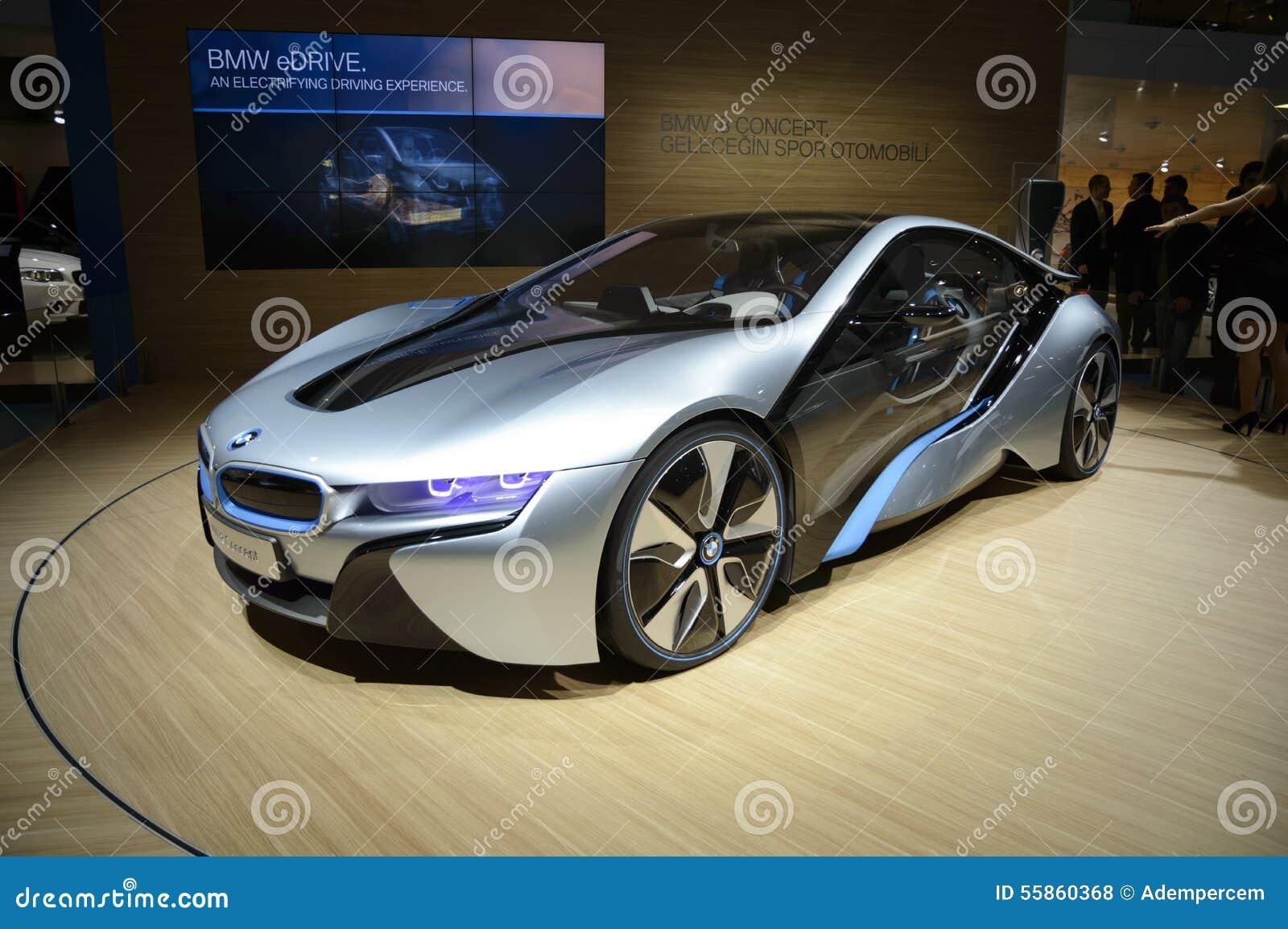 Bmw I8 Vision Efficient Dynamics Hybrid Car Editorial Stock Photo