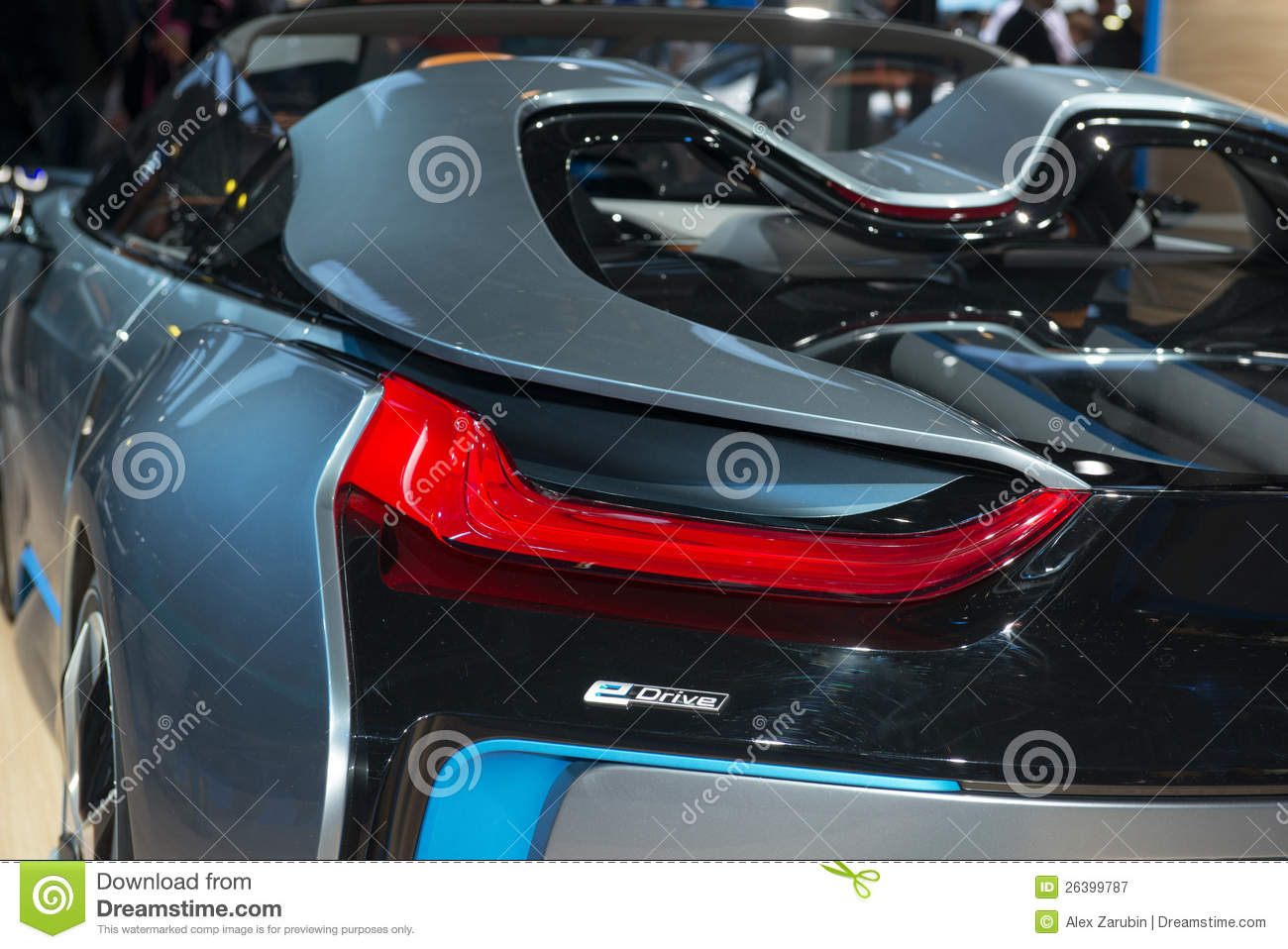 Bmw I8 Spyder Concept European Premiere Editorial Photography