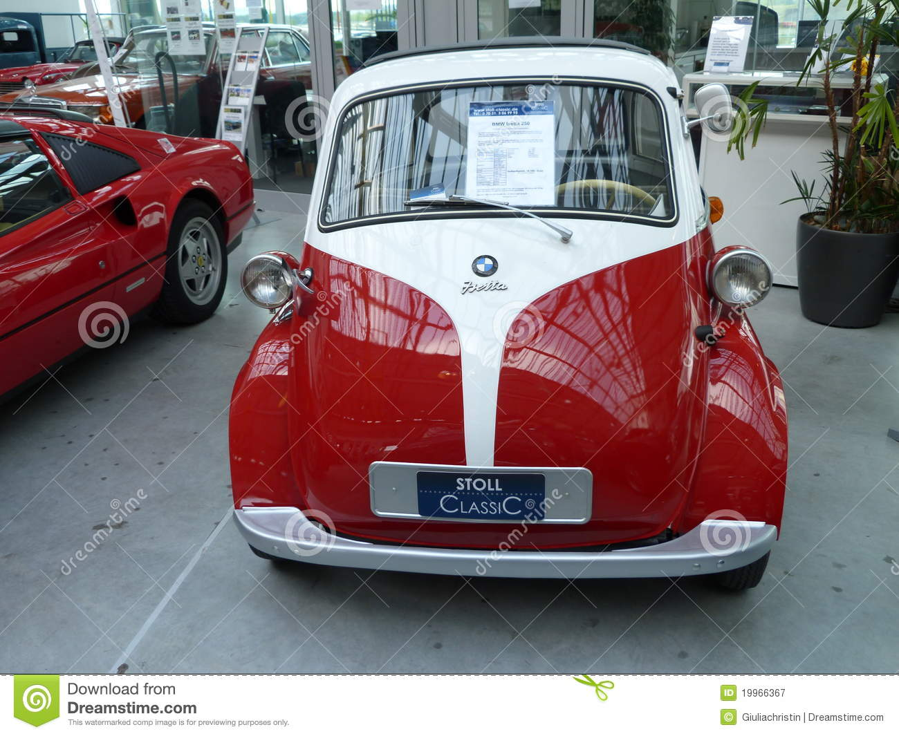 BMW Isetta editorial photography  Image of ragtop, german