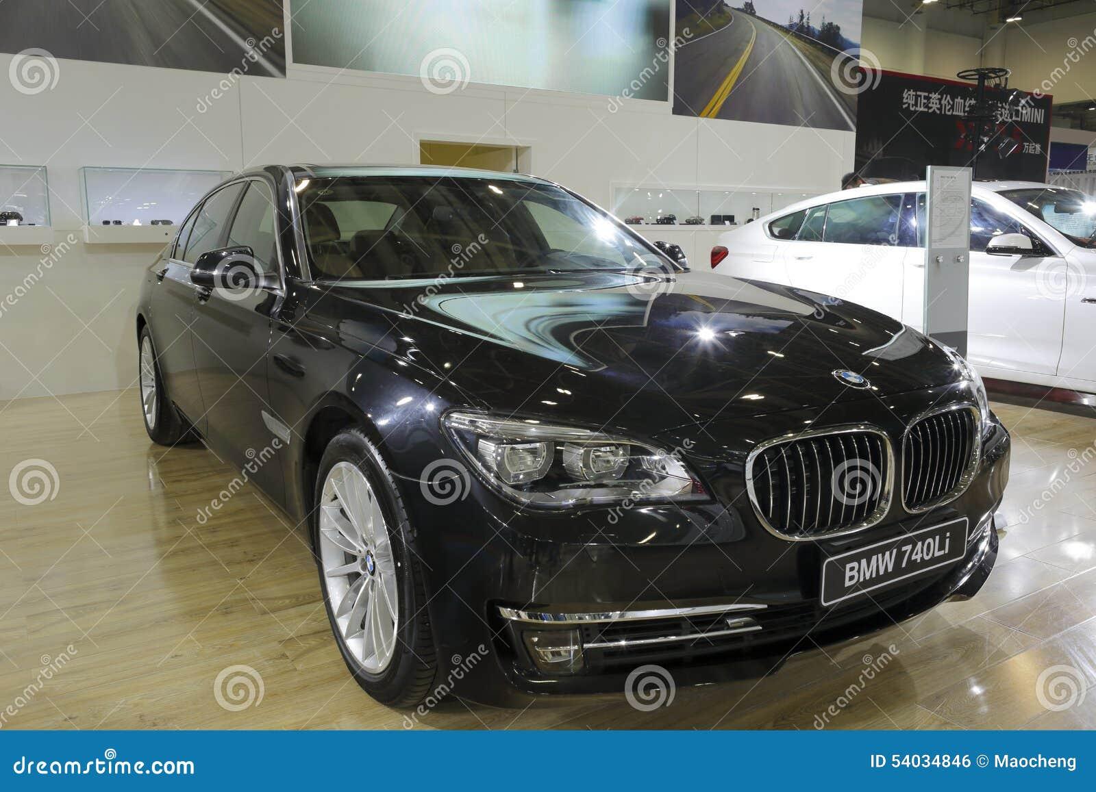High End Luxury Cars: Bmw 740li Car Editorial Photo