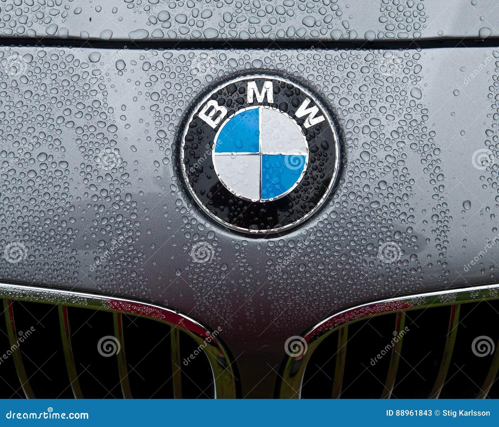 Bmw Logo Redaktionelles Stockfoto Bild Von Leuchte Mütze 88961843