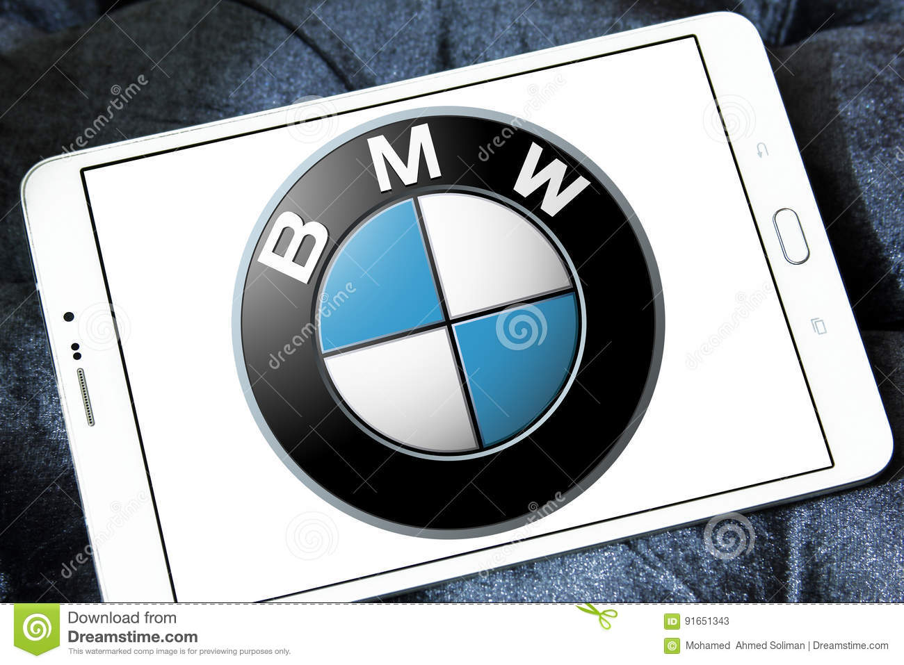 Bmw Logo Editorial Stock Photo Image Of Sign Mobile 91651343