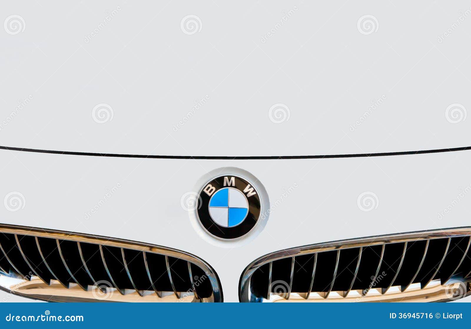Bmw Logo Emblem Editorial Photo Image 36945716