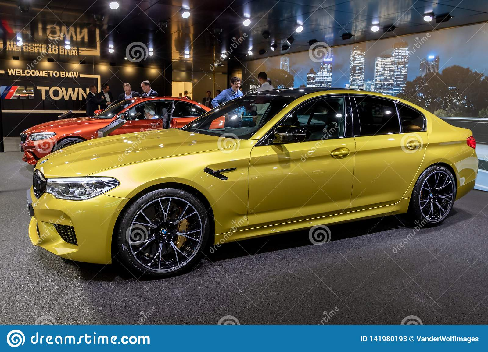 Bmw M5 Competition Car Editorial Stock Photo Image Of Autoshow