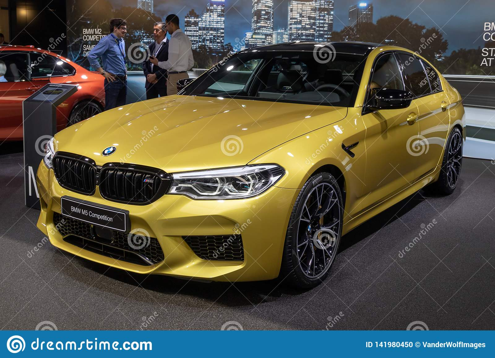 Bmw M5 Competition Car Editorial Image Image Of Automobile 141980450
