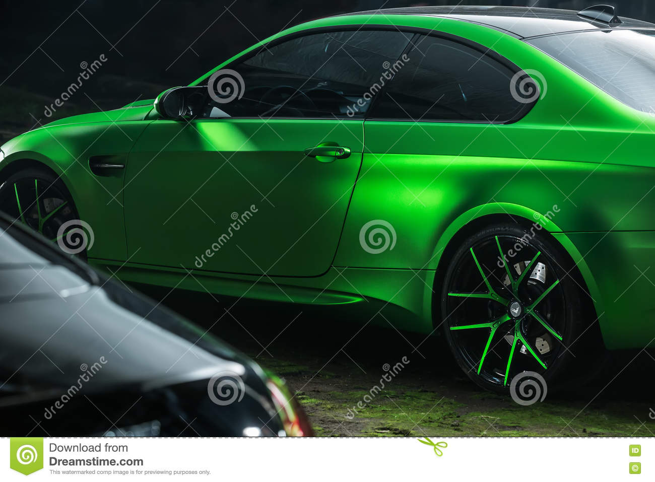 Bmw M3 Coupe Tuning Editorial Stock Image Image Of Acid 81128974