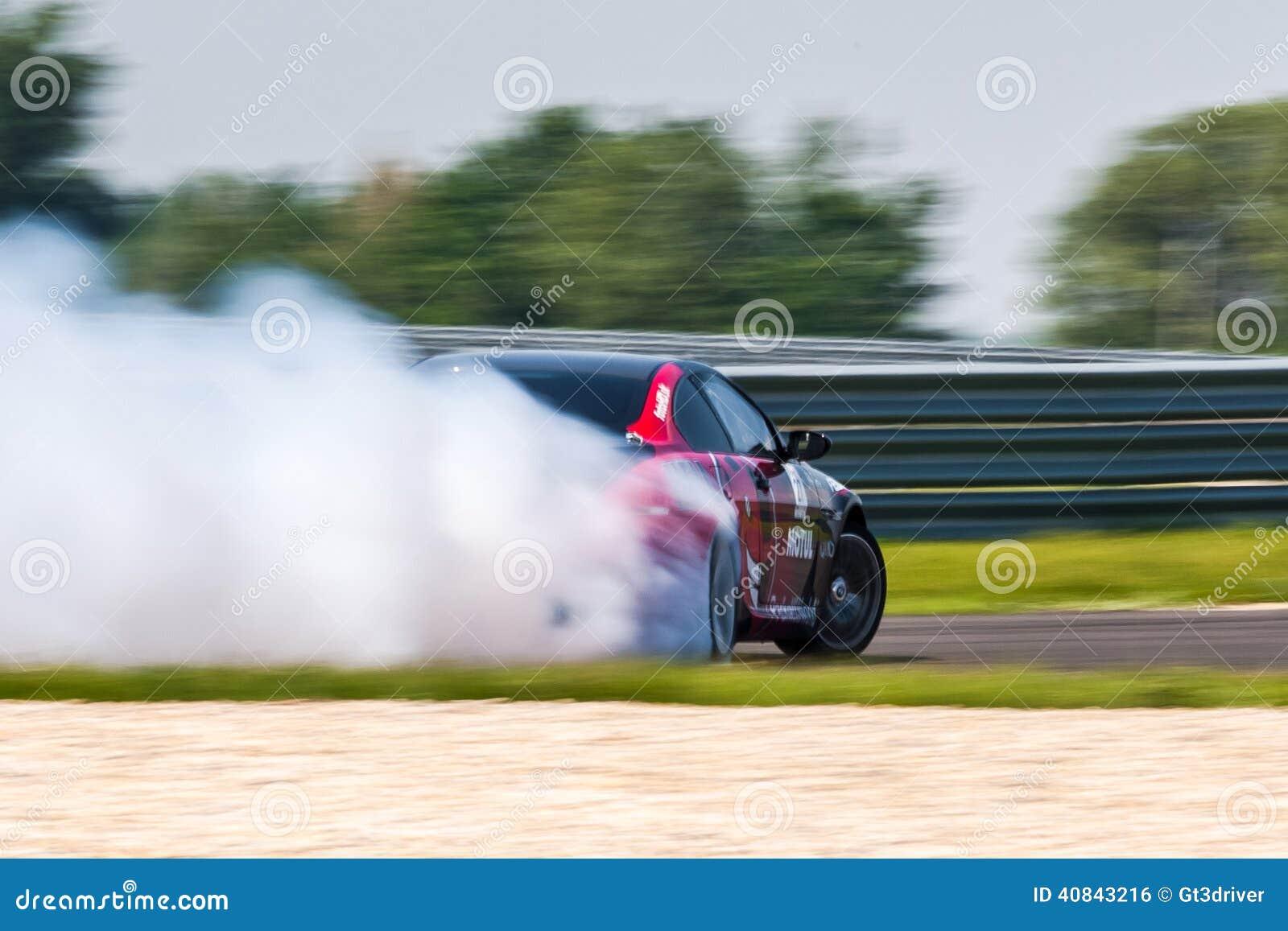 BMW M6 drift car