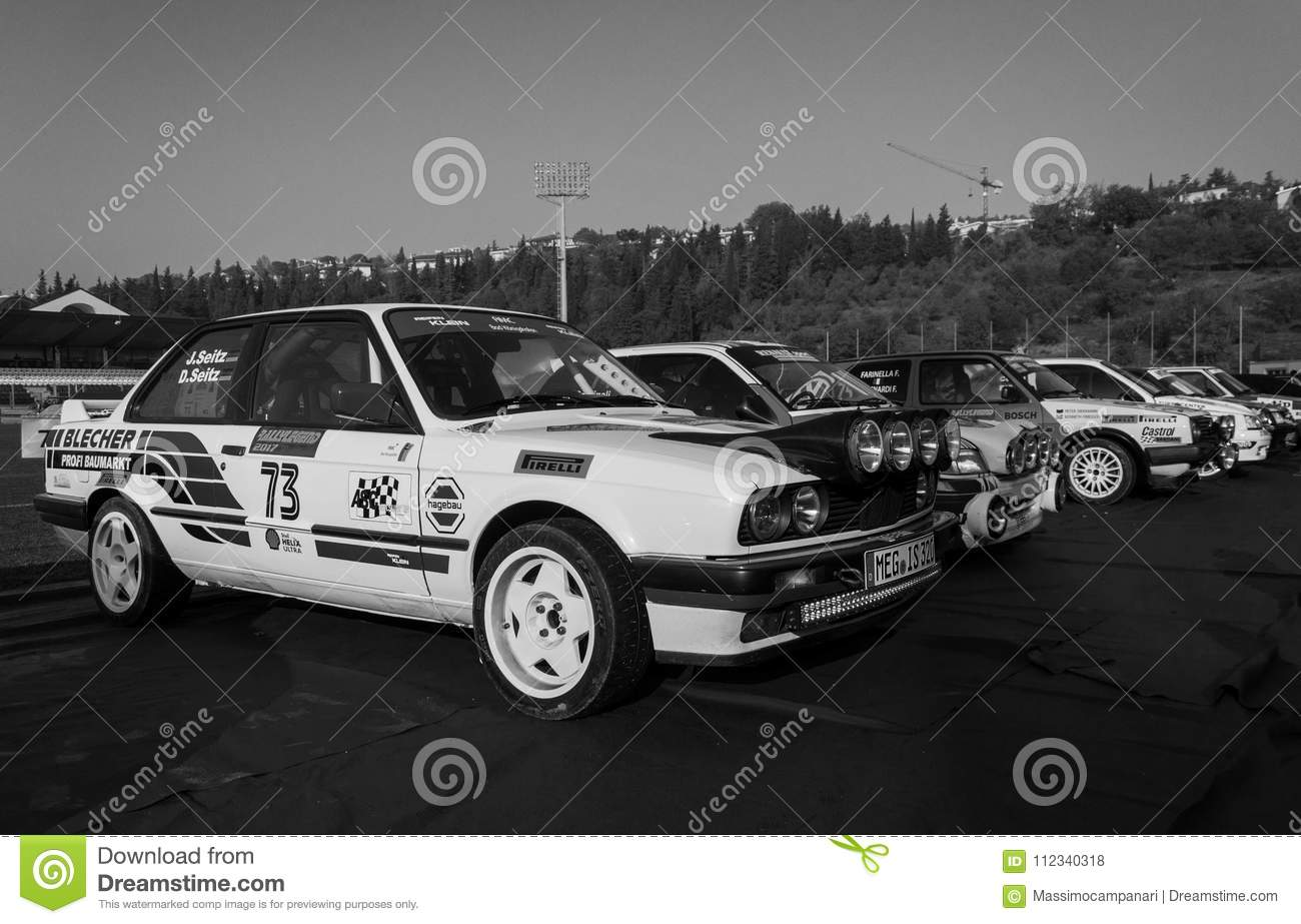 BMW M3 E30 1989 Old Racing Car Rally THE LEGEND 2017 The Famous SAN ...
