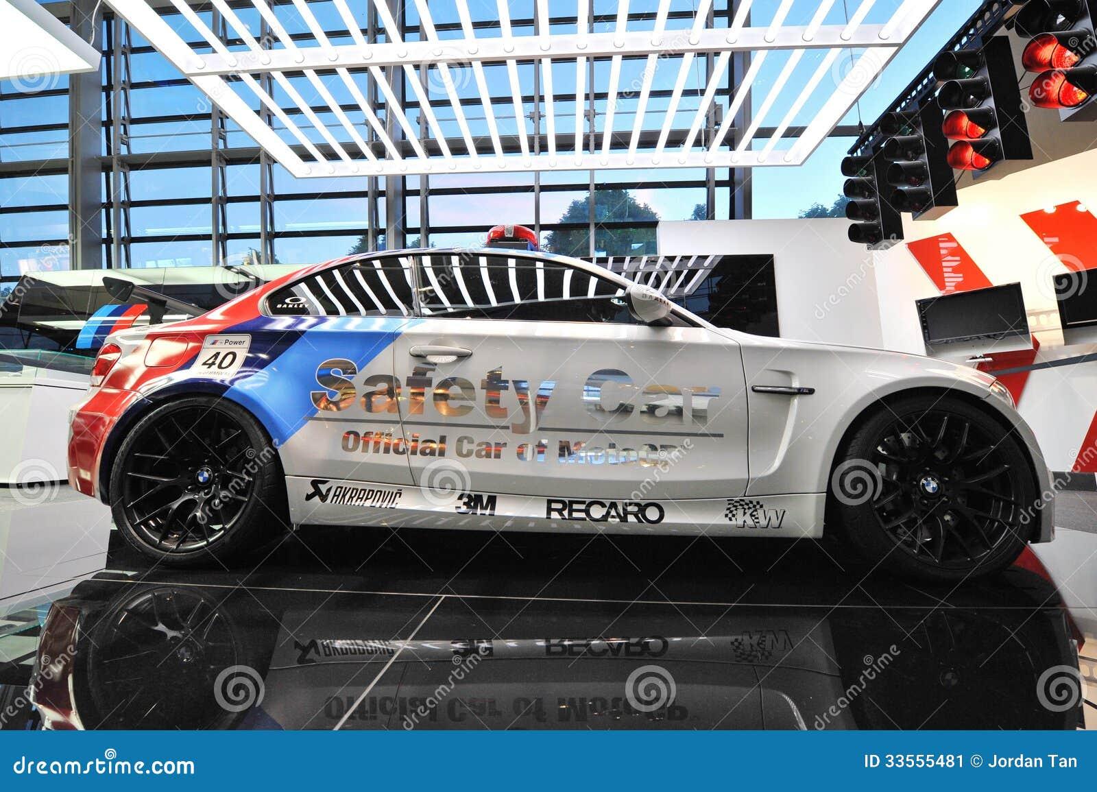 BMW 1M Safety Car On Display At BMW World