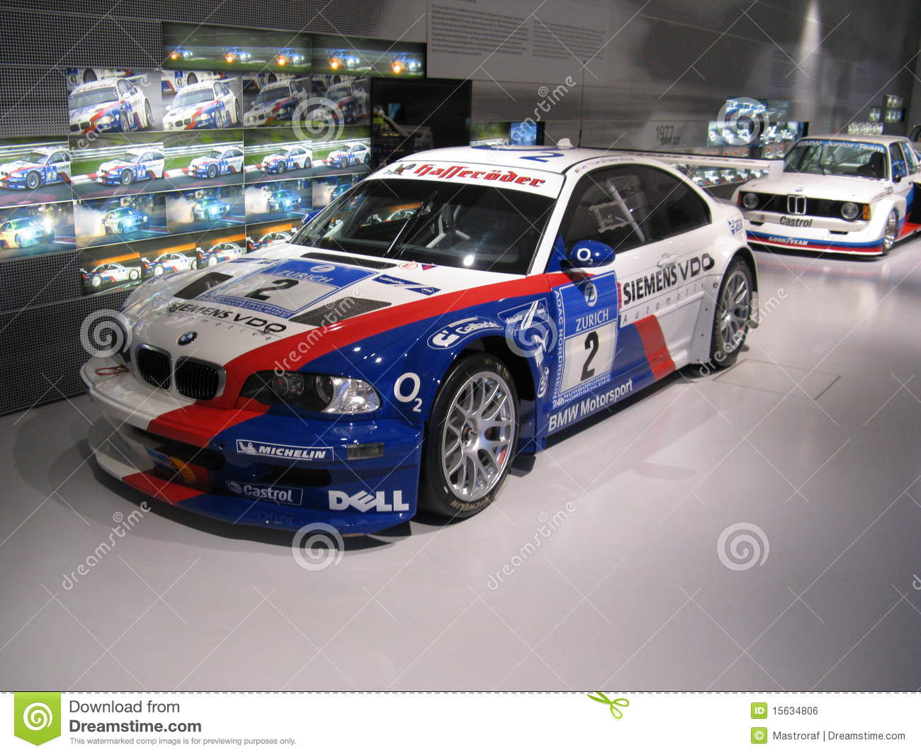 Bmw M3 E46 Gtr Editorial Photo Image Of Monaco Muller 15634806