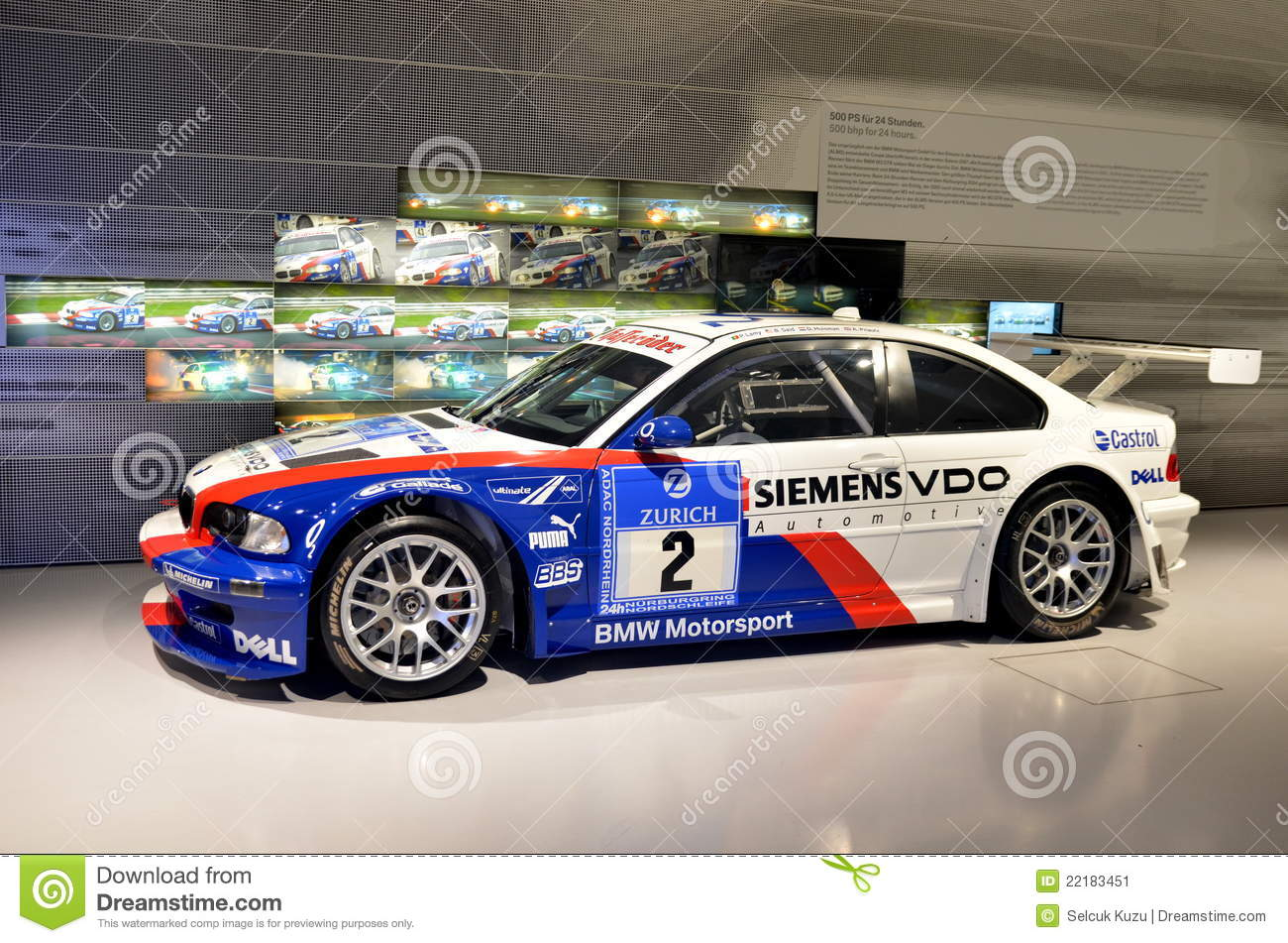 Bmw M3 Gtr 2004 Photo 233 Ditorial Image 22183451