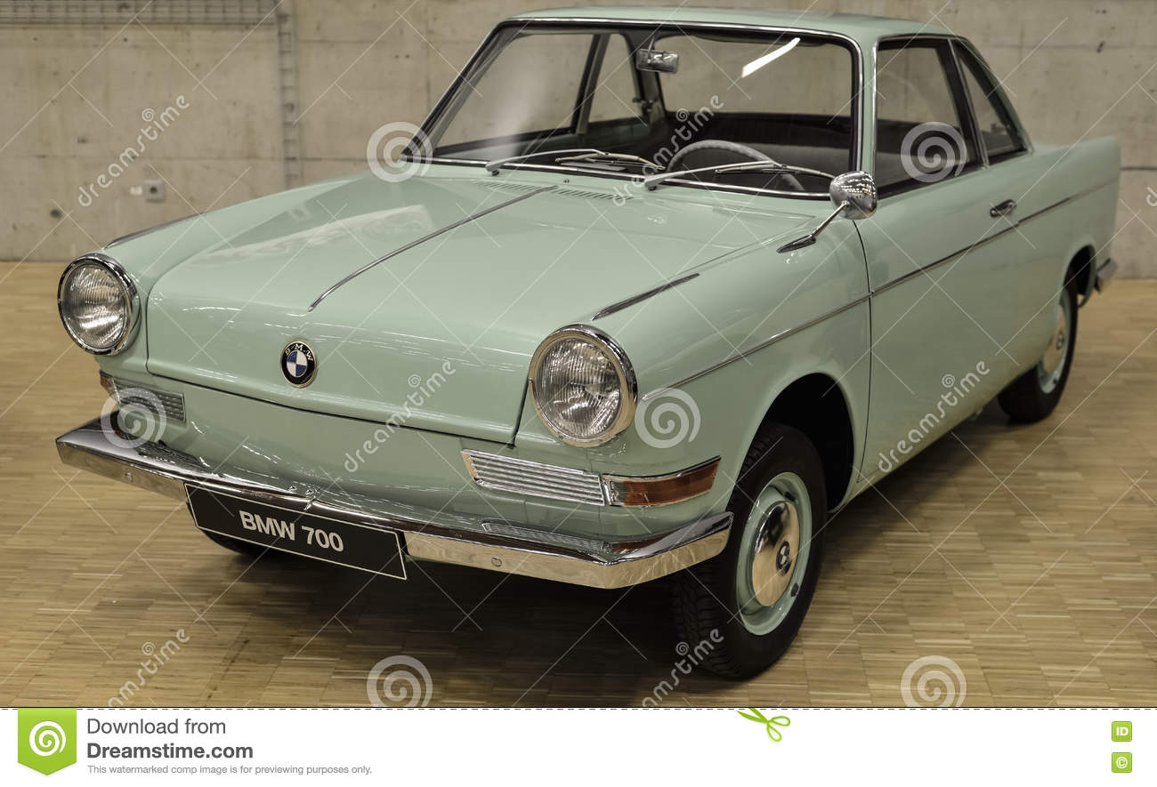 BMW 700 (1964) old car editorial photo. Image of transportation ...