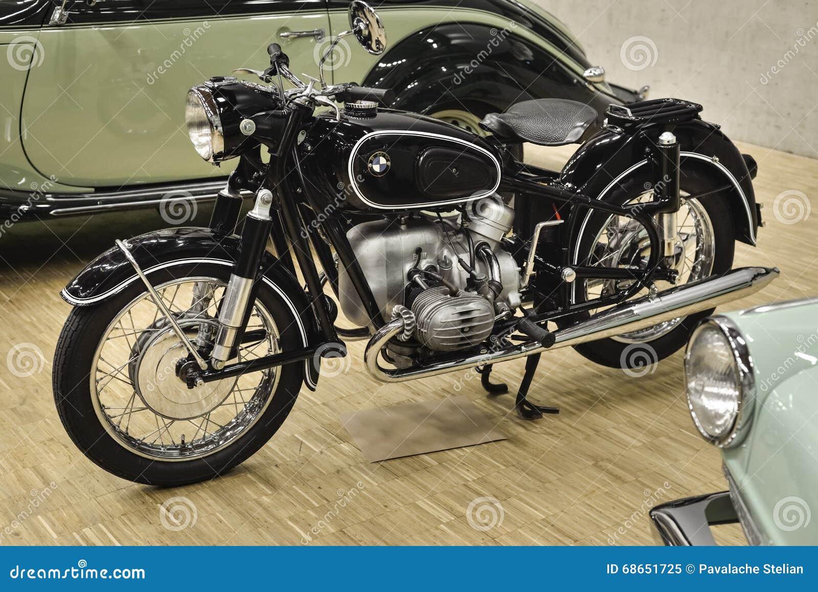 Bmw R Powered Cylinder Ohv Boxer Engine Beautiful Old Motorcycle Switzerland