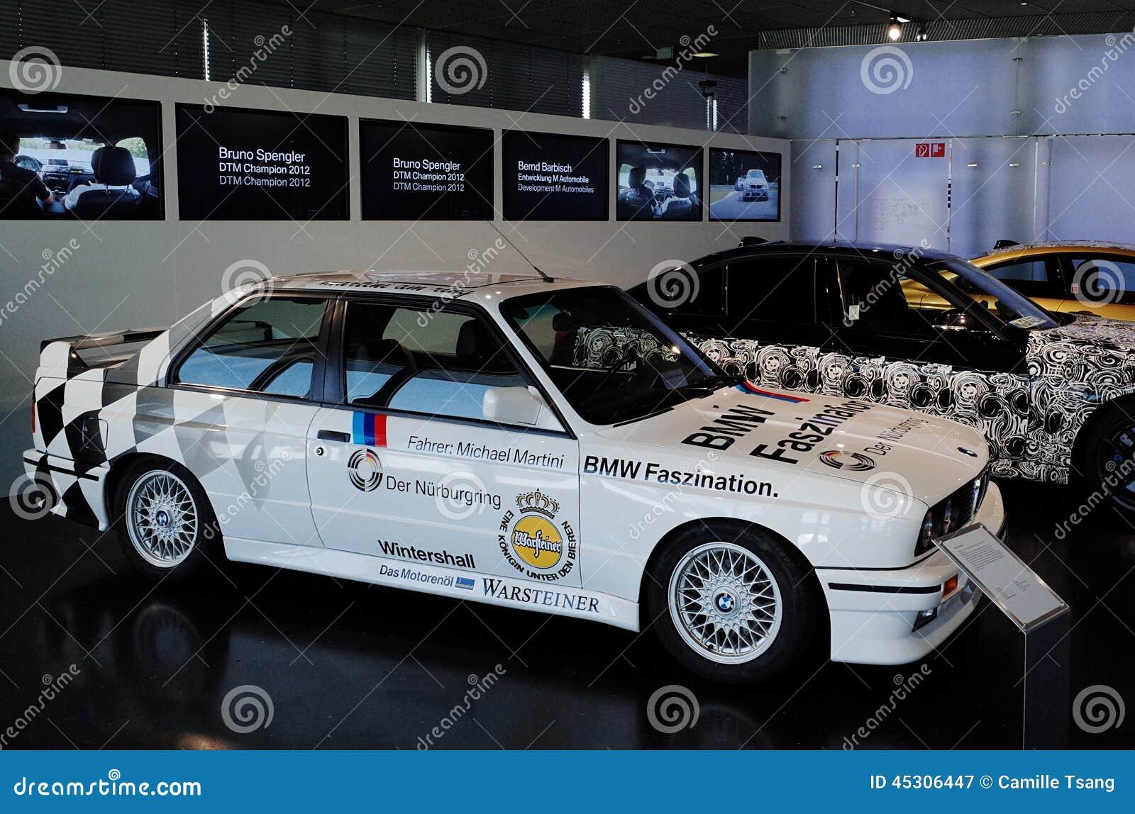Bmw Museum Munich >> BMW M3 E30 Gr.A Editorial Photo   CartoonDealer.com #15634807
