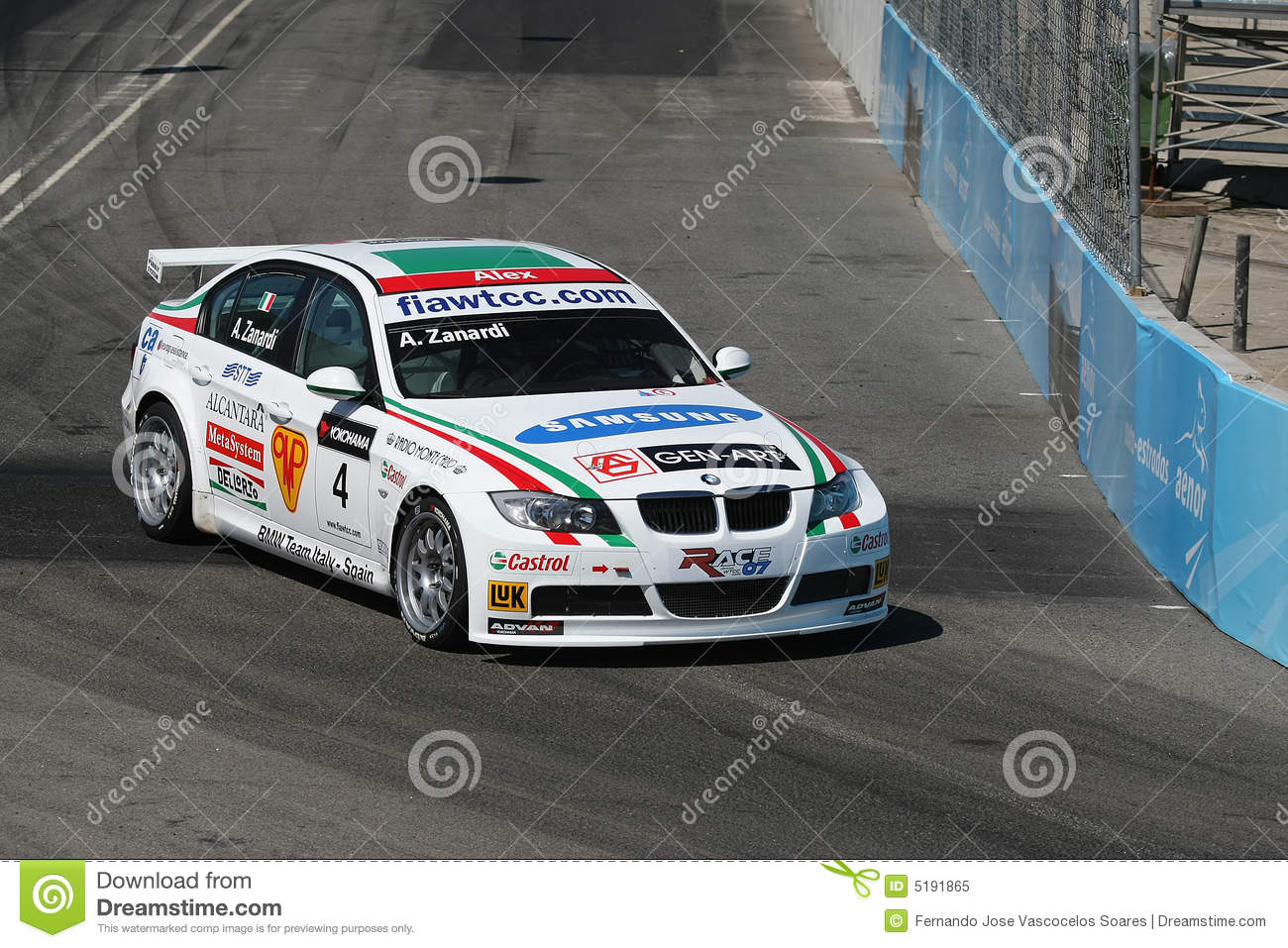 Bmw Racing Car Editorial Image Image Of Action Vehicle 5191865