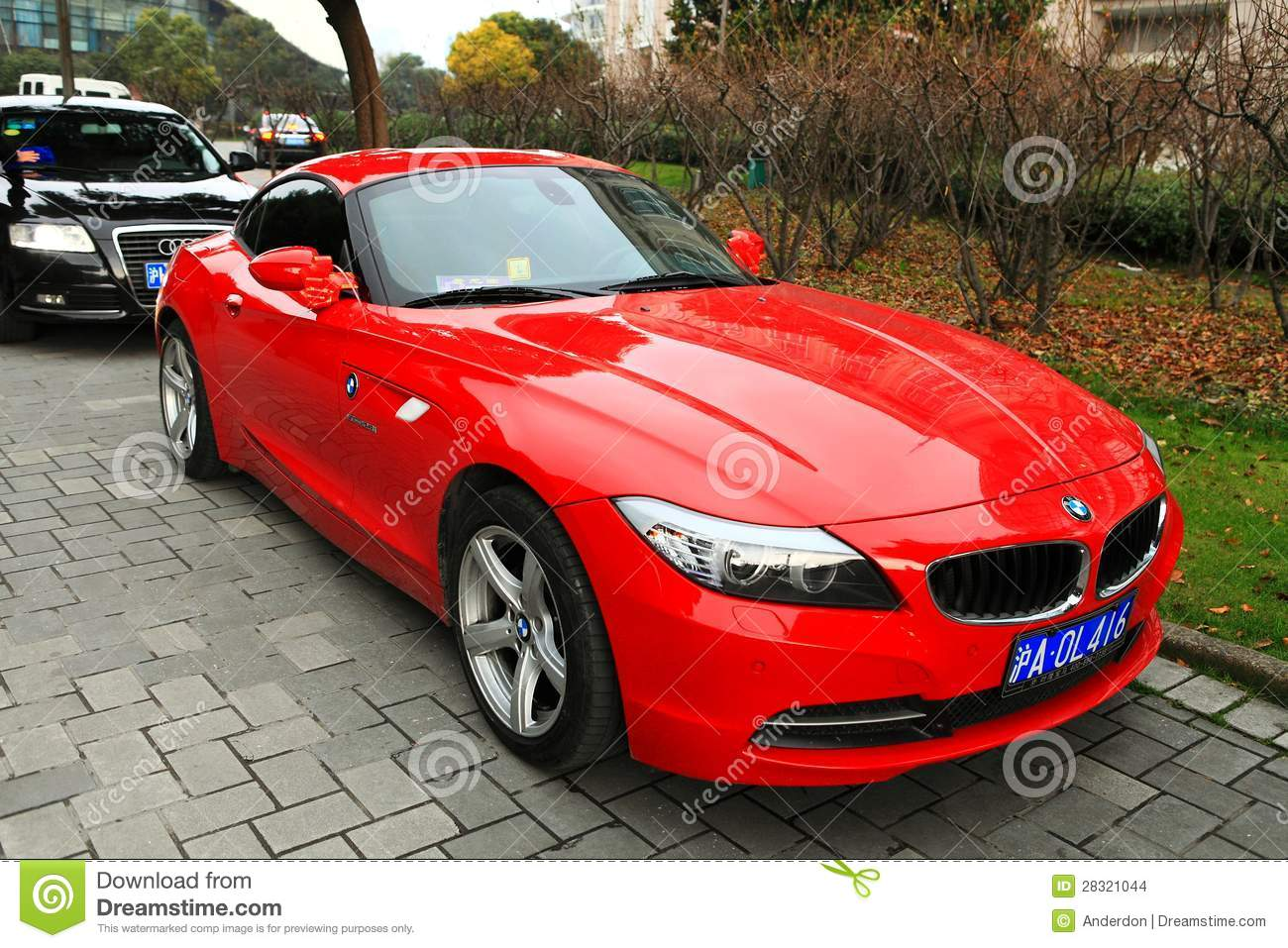 Bmw Rouge Z4 Image Stock 233 Ditorial Image 28321044
