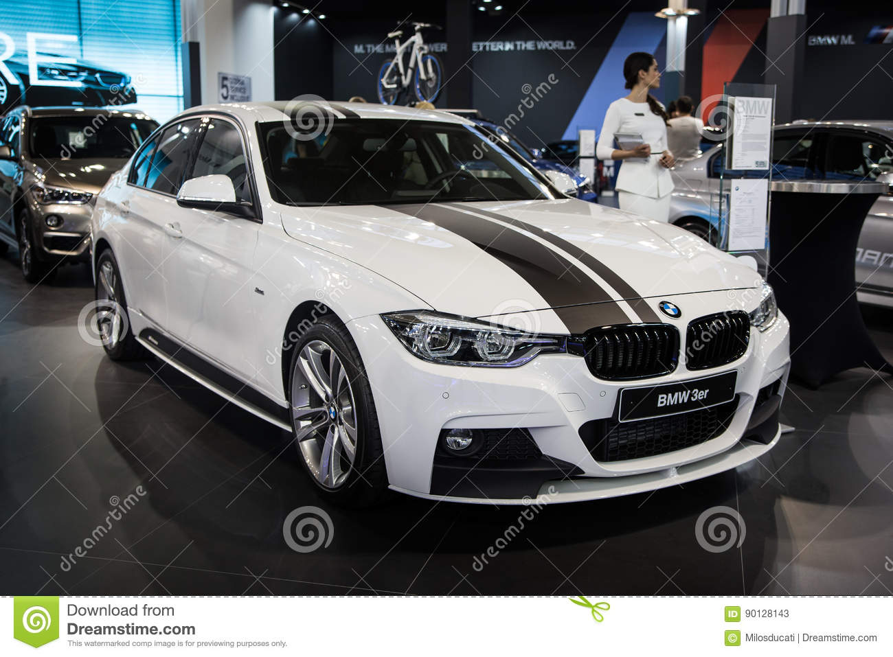 Bmw 3 Series M Performance Editorial Stock Photo Image Of Modern
